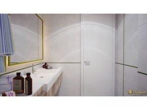 ванная комната вид на дверь