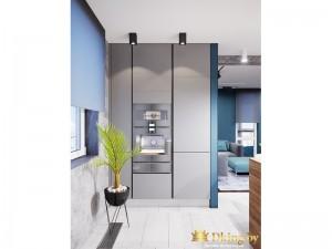Дизайн квартиры, трехкомнатная
