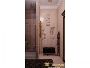Туалет в стиле боррокко