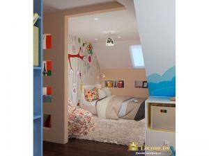 Стилизованая детская кровать