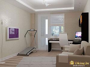 дизайн комнаты для подростка в двушке