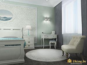 планировка спальни в небольшом коттедже