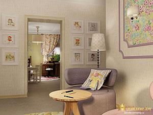 детская комната в большом загородном доме