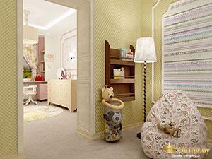 правила зонирования частного дома: детская для принцессы