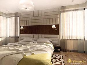 спальня в большом частном доме: как зонировать
