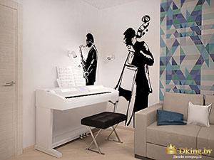 комната подростка в 2-комнатной квартире