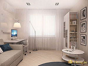 квартира 2 комнаты дизайн детской