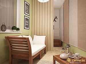 зонирование в двухэтажном частном доме: комната отдыха