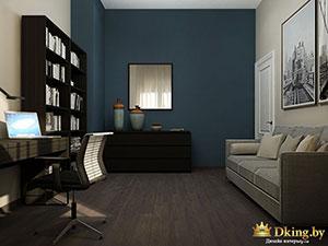 стена как яркий акцент в интерьере квартиры