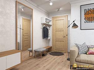 дизанйн 1 комнатной квартиры