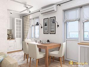 1 комнатная квартира в современном стиле