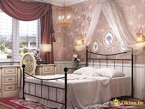 спальня принцессы в маленькой двушке