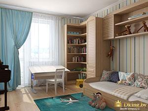 дизайн большой детской в трехкомнатной квартире