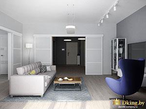 дизайн одноэтажного дома со свободной планировкой