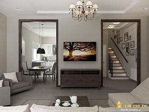 внутренний дизайн частного дома