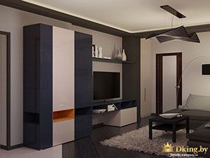 3-комнатная квартира метраж 120 м : дизайн интерьера
