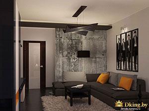 интерьер современной трехкомнатной квартиры