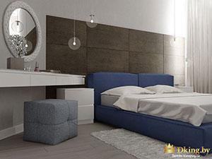 интерьер большой квартиры : серые стены