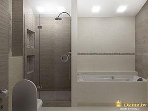 планирвока и дизайн большой современной 3-комнатной квартиры