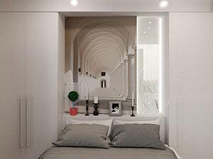 спальное место в однушке