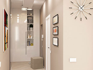 зонирование однокомнатной квартиры-студии