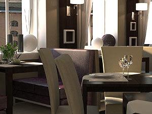 интерьер кафе в современном стиле